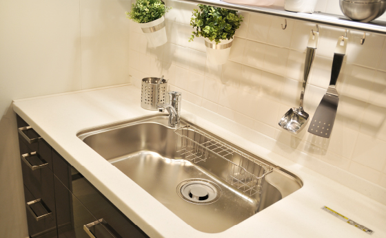 キッチンの排水溝