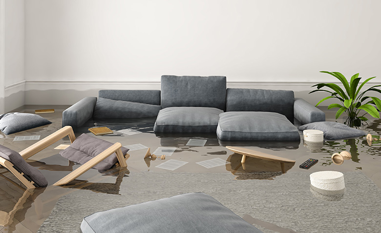 水漏れ被害イメージ