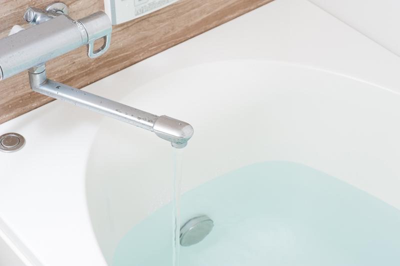 お風呂の蛇口のイメージ