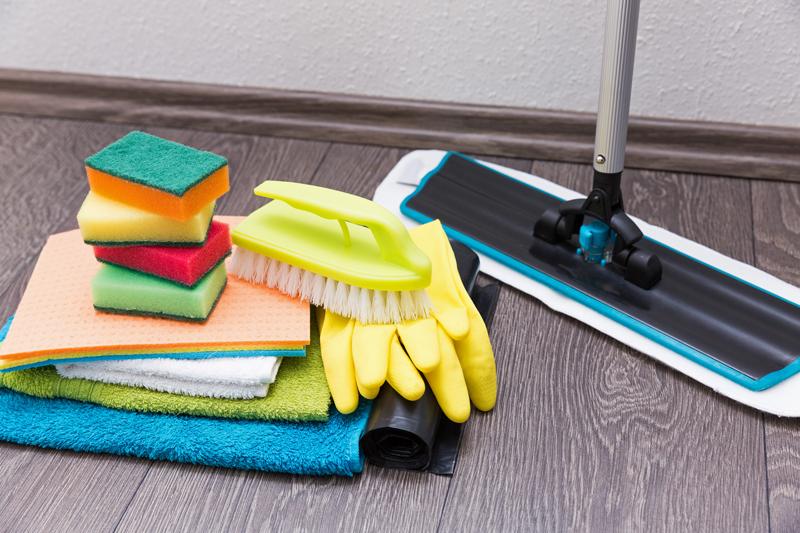 掃除道具などのイメージ