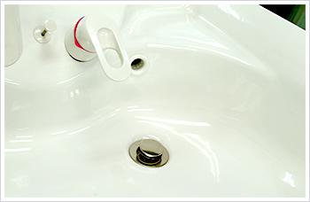 洗面所のつまりについて
